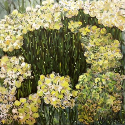 In the Garden 100 x 100 cm