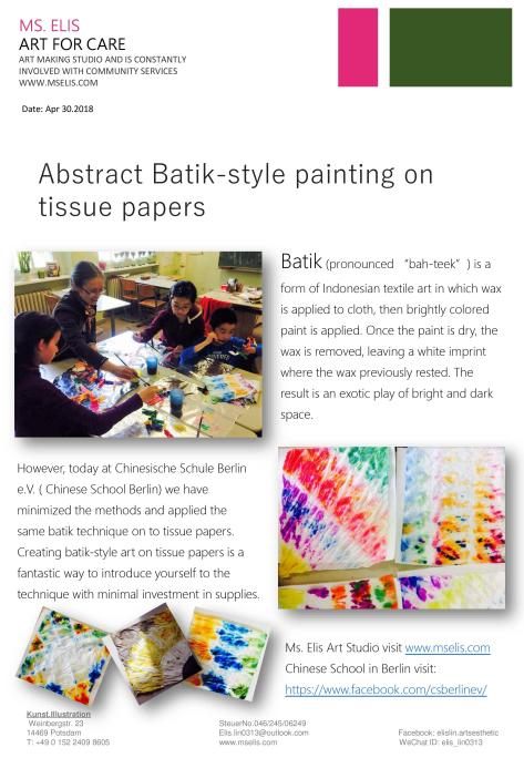 press 30.4.2018 Batik Style painting-english